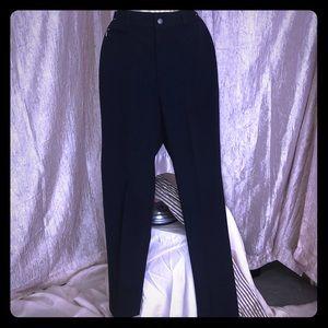 RALPH LAUREN NAVY BLUE DRESS PANTS
